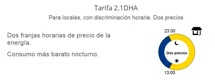 Tarifa 2.1DHA